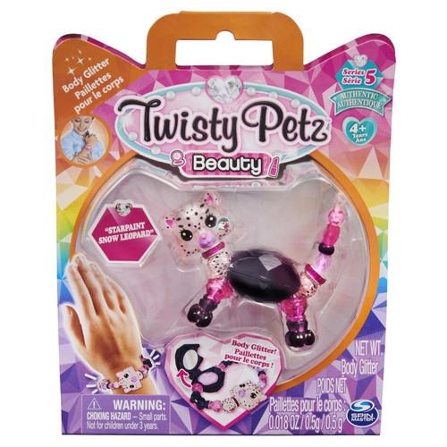 Twisty Petz Single Beauty - Starpaint Snow Leopard