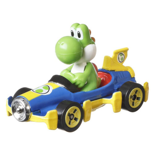 Hot Wheels Mario Kart Cars - Yoshi