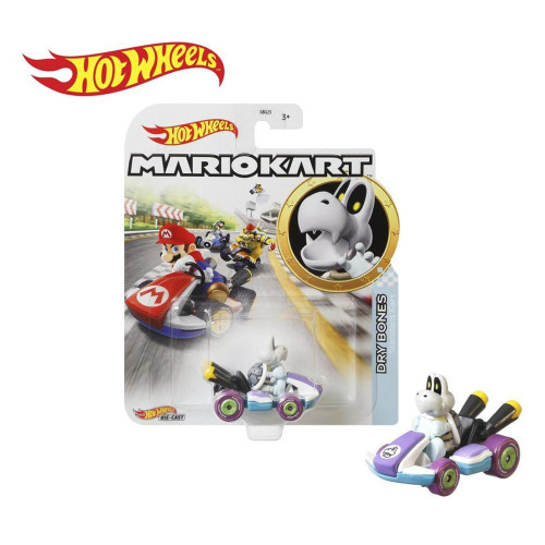 Hot Wheels Mario Kart Cars - Dry Bones