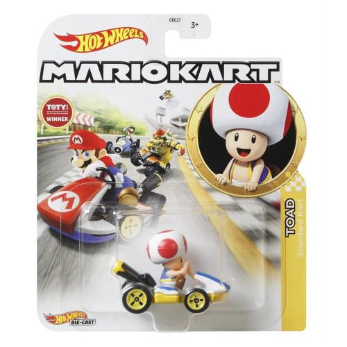 Hot Wheels Mario Kart Cars - Toad