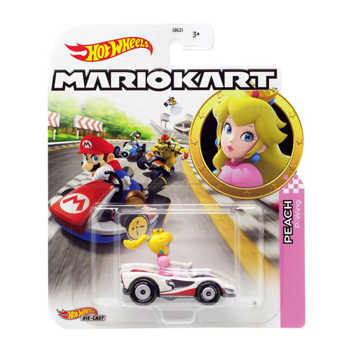 Hot Wheels Mario Kart Cars - Peach