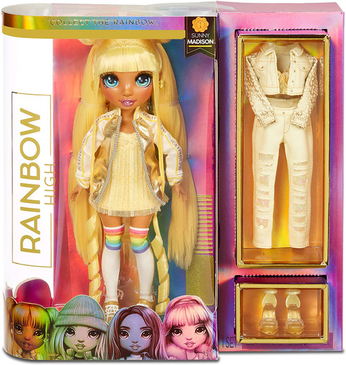 Rainbow High Fashion Doll - Sunny Madison
