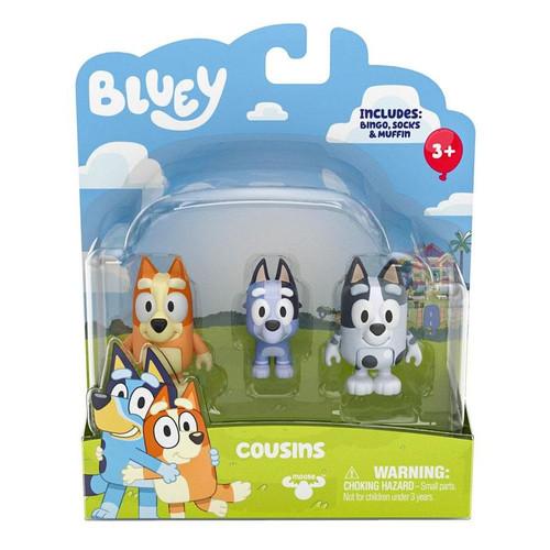 Bluey S3 Figure 2 Pack - Cousins