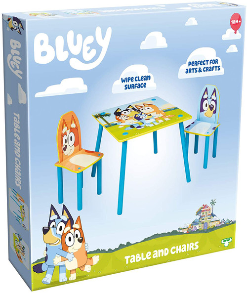 Bluey Furniture - Table and Chairs