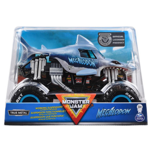 Monster Jam 1:24 Diecast Truck - Megalondon