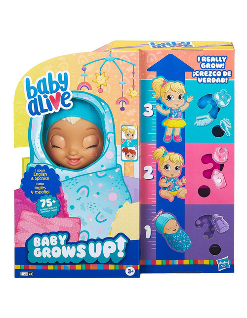 Baby Alive - Baby Grows Up Happy