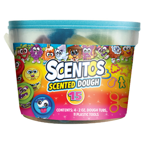 Scentos Scented Dough and Tools in Tub
