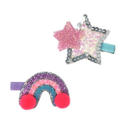 Star Light Hairclip Set