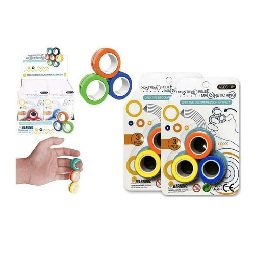 Magnetic Stress Relief Rings (Assorted)