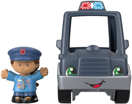 Little People Small Vehicle - Police Car