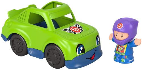 Little People Small Vehicle - Green Racecar