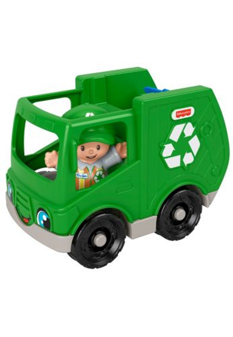 Little People Small Vehicle - Garbage Truck