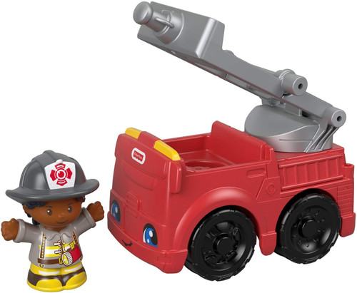 Little People Small Vehicle - Fire Truck