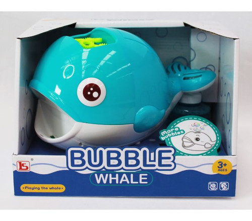 Rotating Bubble Whale