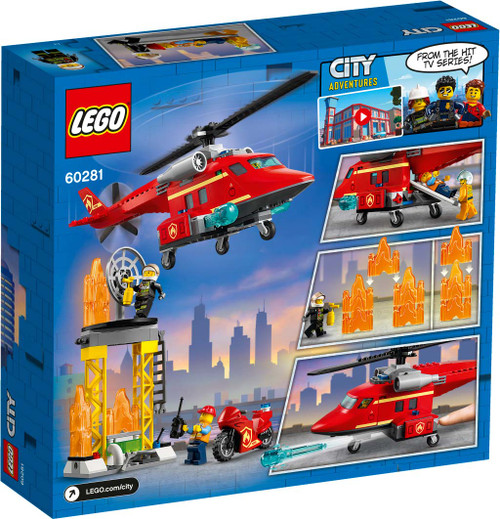 Lego City - Fire Rescue Helicopter
