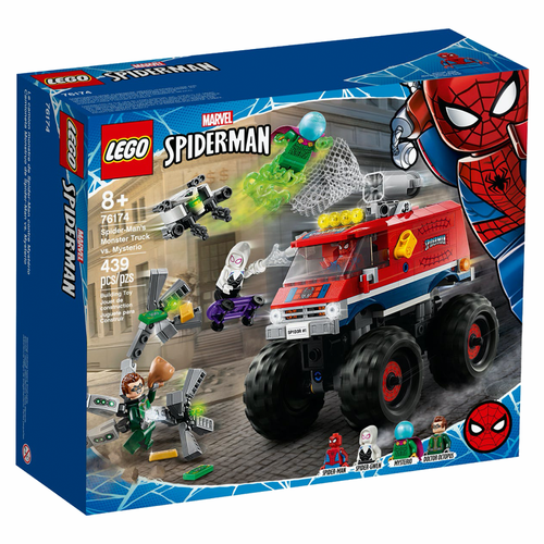Lego Super Heroes - Spider-Mans Monster Truck vs Mysterio