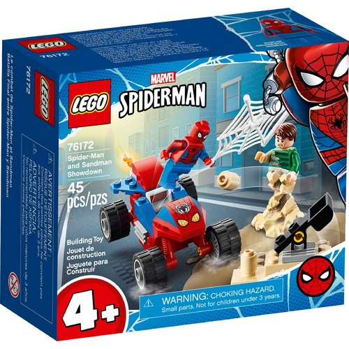 Lego Super Heroes - Spider-Man and Sandman Showdown