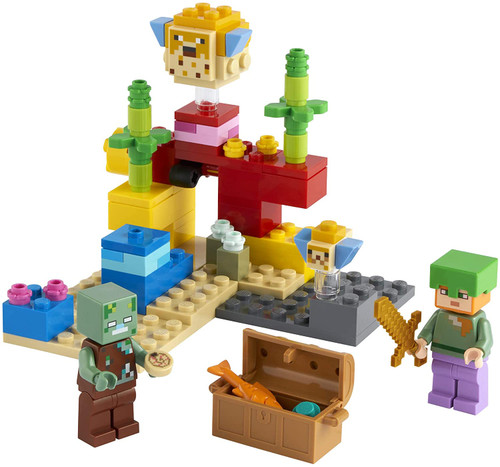 Lego Minecraft - The Coral Reef