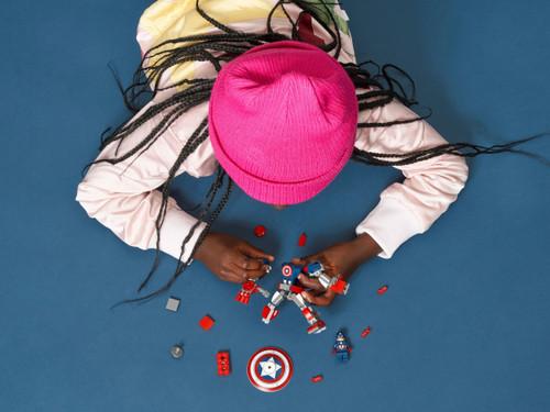 Lego Super Heroes - Captain America Mech Armor