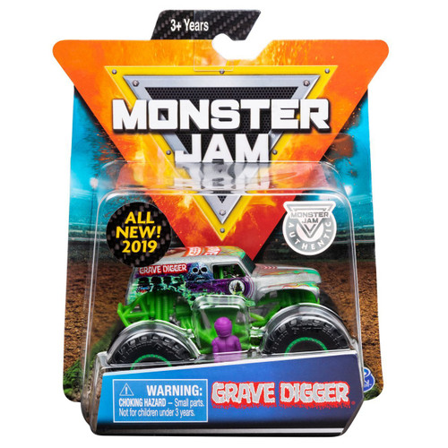 Monster Jam 1:64 Scale Truck - Grave Digger All New 2019