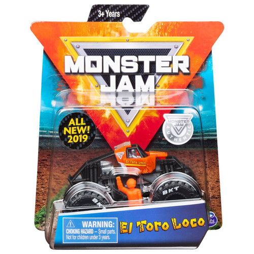 Monster Jam 1:64 Scale Truck - El Toro Loco