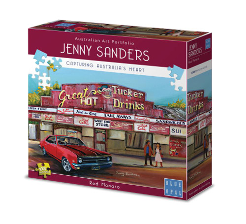 Blue Opal - Jenny Sanders Red Monaro Puzzle 1000pc