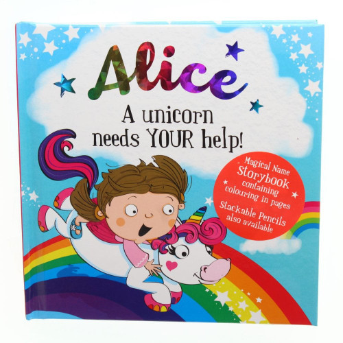 Magical Name Storybooks - Alice