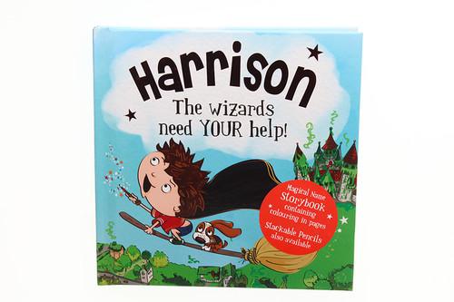 Magical Name Storybooks - Harrison