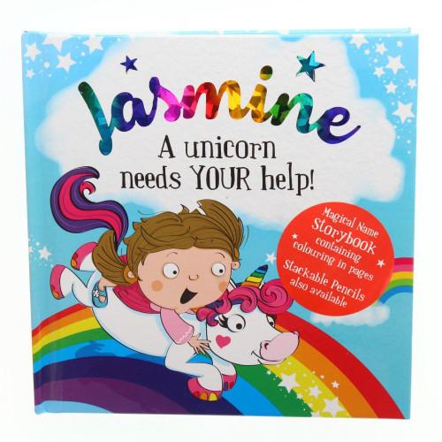 Magical Name Storybooks - Jasmine