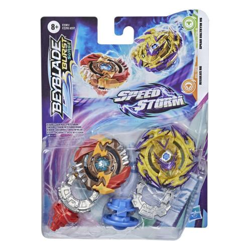 Beyblade Speed Storm Dual Pack - Regulus R6 & Spear Valtry