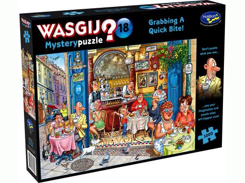 Wasgij? Mystery 18 Grabbing a Quick Bite!