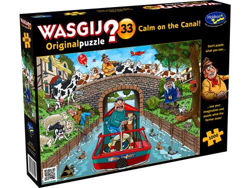 Wasgij? Original 33 Calm On The Canal!