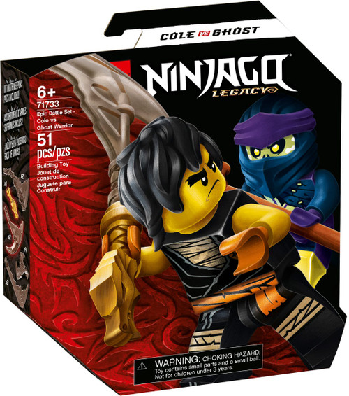 Lego Ninjago - Epic Battle Set - Cole vs. Ghost Warrior