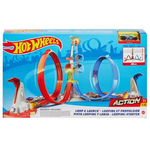 Hot Wheels Action Loop and Launch Track Set