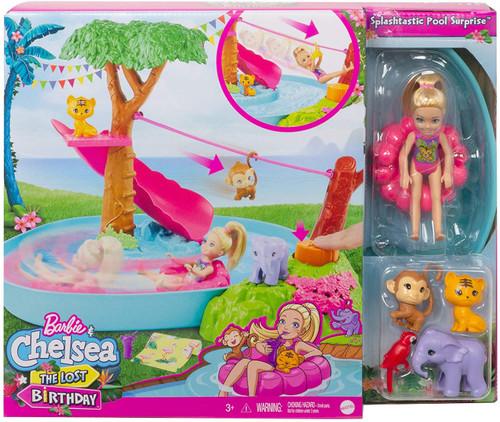 Barbie & Chelsea The Lost Birthday Splashtastic Pool Surpris