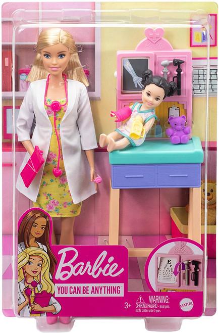 Barbie Careers Doll & Playset - Pediatrician Blonde