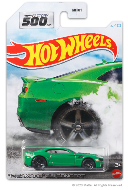 Hot Wheels Factory 500 - 12 Camaro ZL1 Concept