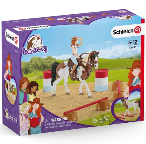 Schleich - Hannahs Western Riding Set