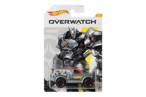 Hot Wheels Overwatch Reinhardt - Power Panel