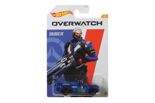 Hot Wheels Overwatch Soldier:76 - Solid Muscle