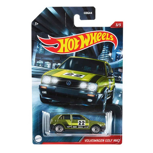 Hot Wheels - Volkswagen Golf MK2