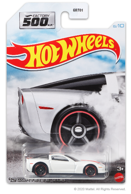Hot Wheels Factory 500 - 12 Corvette Z06