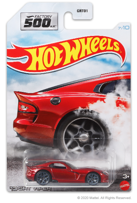 Hot Wheels Factory 500 - 13 SRT Viper