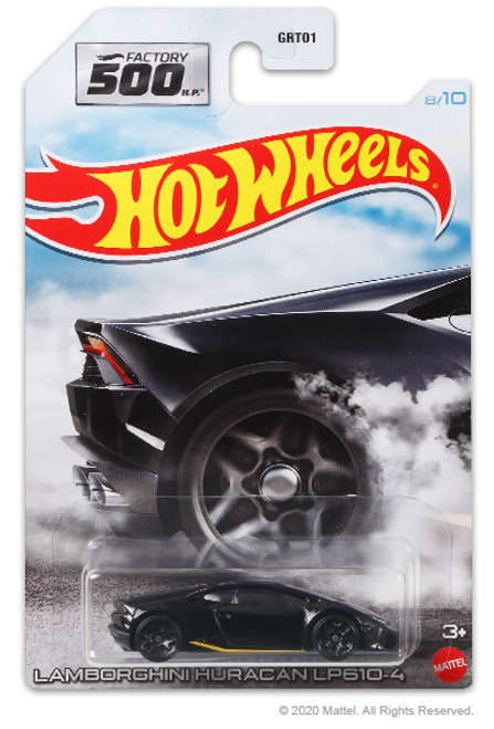 Hot Wheels Factory 500 - Lamborghini Huracan LP610-4