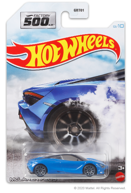 Hot Wheels Factory 500 - McLaren 720S