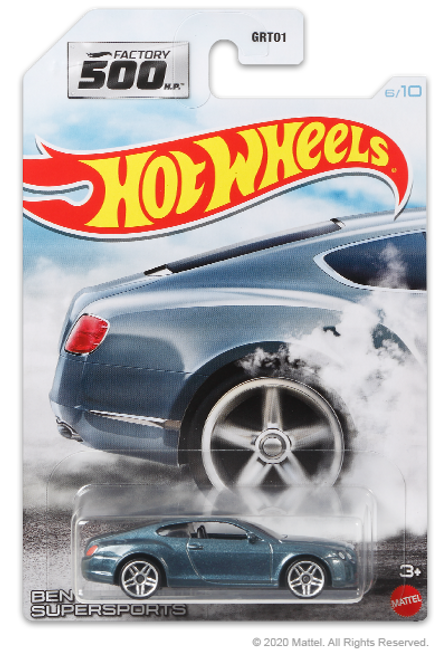 Hot Wheels Factory 500 - Bentley Continental Supersports
