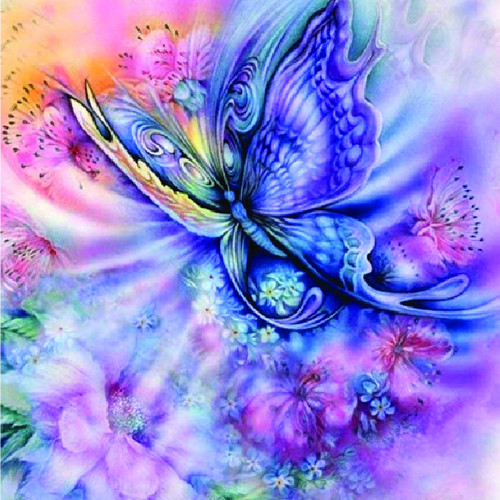 Diamond art - Whimsical Butterfly 40x50
