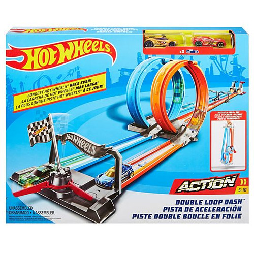 Hot Wheels Action Set - Double Loop Dash