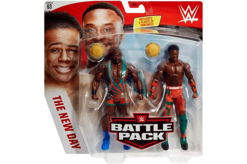 WWE Battle Pack - Big E and Xavier Woods