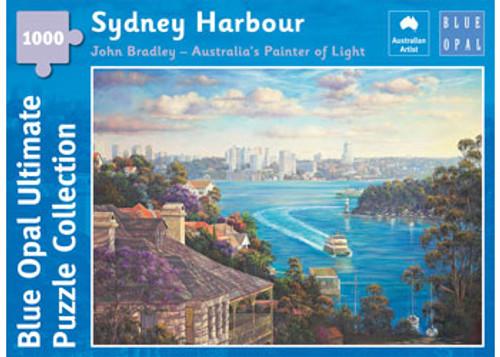 Blup Opal - Bradley Sydney Harbour Puzzle 1000 pce